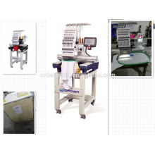 Newest Small Single Head Computerized Embroidery Machine Cap / T-shirt Embroidery Machine
