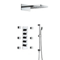 HIDEEP Thermostatic Two Function Wall Mounted Shower Faucet