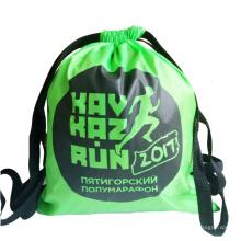 China factory custom fancy kids rope drawstring polyester backpack bag