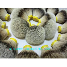 23 / 66mm الكثافة Silvertip Badger Hair Knot