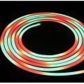 Cor do diodo emissor de luz IP68 impermeável completa de 14.4W / M que muda a luz de néon da corda do diodo emissor de luz