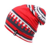 Moda jacquard acrílico malha inverno quente esqui esportes chapéus (yky3137-2)