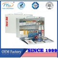 empty metal first aid wall cabinet for sale