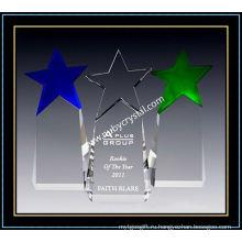 Первостепенное звезды Кристалл премии 9 дюймов высотой (ню-CW859)