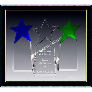Paramount Star Award Crystal 9 Inch Tall (NU-CW859)