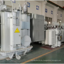 Transformador de energía eléctrica industrial sumergido en aceite de bobina de cobre