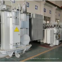 Промышленный трансформатор электроэнергии в масляной ванне с медной катушкой