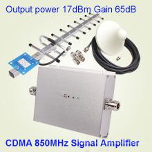 Bajo ruido CDMA 850MHz Lte Repetidor de la señal del teléfono móvil