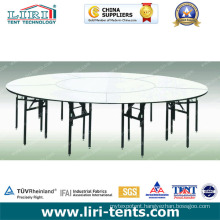 1.8m 10 People Folding Round Table for Sale