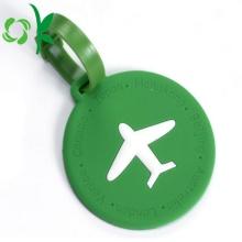 Etiqueta colgante de viaje con logotipo en relieve para etiquetas