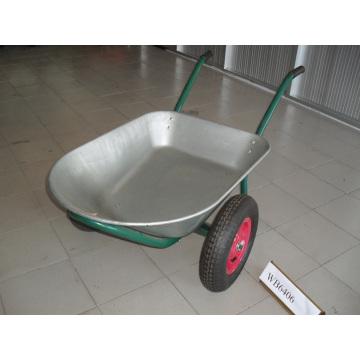 Оцинкованный поддон воду емкостью 75л колесо Барроу