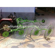 RunShine 9LRX finger wheel hay rake (manufacture)
