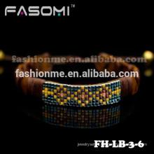 Nouveau bracelet de mode de bracelet en cuir véritable pour femme