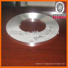 Bonne qualité bande d'acier inox de type 304 et 316 L