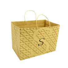 High Quality Fashion Pattern Kraft Paper Bags For Printing Craft Paper Shopping Bag