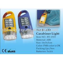 BT-1515 mosquetón linterna LED