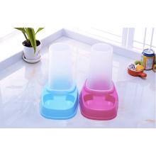 Tigela automática do distribuidor do alimento da água do gato do cão da fonte do alimentador da água do animal de estimação