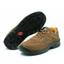 China Factory Professional Industrial Working Standard PU Labor Safety Shoes