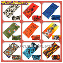 Factory Outdoor Multi Functional Print Seemless Hedwear NECK TUBE