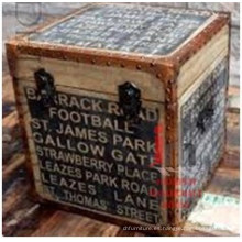 Caja de almacenamiento de lona impresa