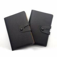 Отрывными листами ноутбук/ кожаные блокноты/ Подгонянный PU ноутбук