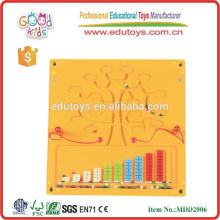 Wooden Educational maze wall game toys