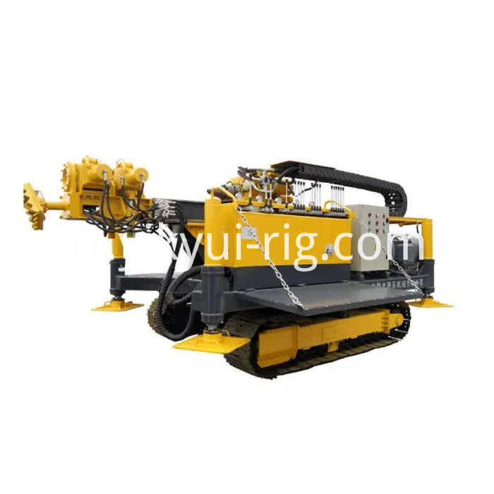 96kw Crawler Mounted Jet Grouting And Anchor Drilling Rig For Engineering Construction 3