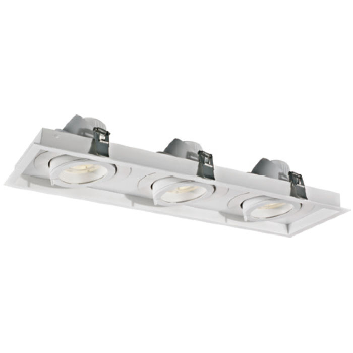 Rectangular Design Technology 30W3 LED Downlight