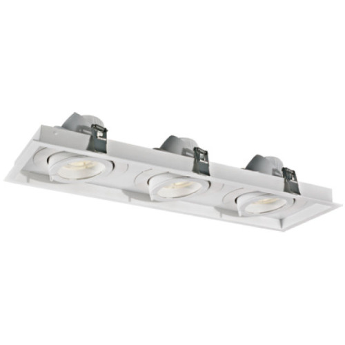 Tecnología de diseño rectangular 30W * 3 LED Downlight
