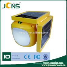 Multifunción camping lámparas solares con cargador de teléfono móvil USB