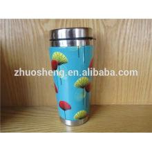 Großhandel Creative hergestellt in China Bestnote Edelstahl Werbe Keramik Farbwechsel-Tasse