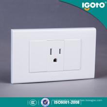 Igoto American Standard Receptacle Electrical 3 Pin Wall Socket