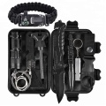 set with rope professional survival gear kit