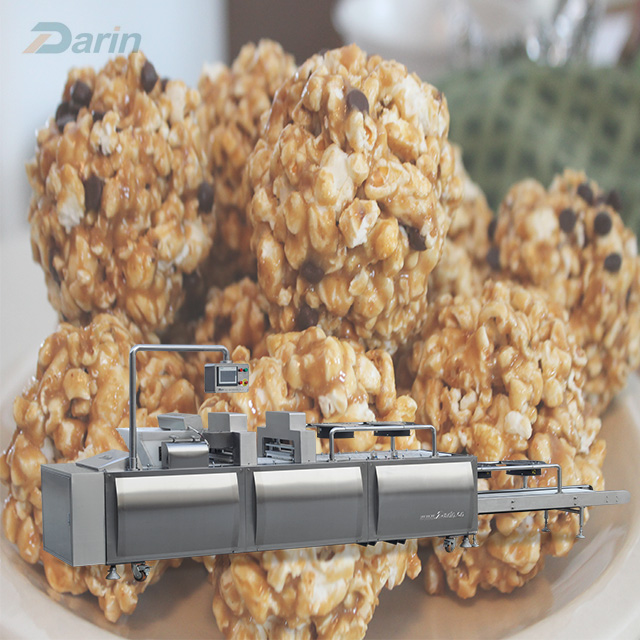 Peanuts ball making machine