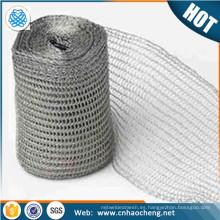 Ancho personalizado Estañado Malla de alambre de cobre tejida malla de malla