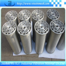 Elemento de filtro de acero inoxidable 316