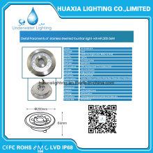 Luz subacuática de la piscina IP68 LED Luz subacuática de la piscina