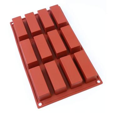Moule à chocolat en silicone rectangle 12 tasses Amazon