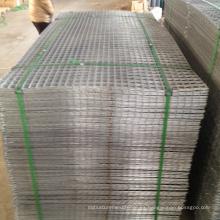 panel de malla de alambre soldado galvanizado grueso de calibre 11
