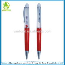 Personalizado caneta promocional líquida flutuante com flutuador 3D