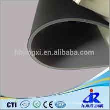 Feuille de caoutchouc d'insertion de tissu de haute qualité