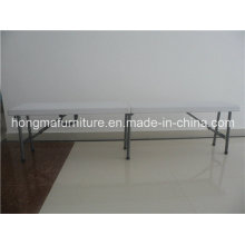 6ft Folding Bench Matched with Tables for Wedding Use