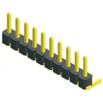 2,54 mm speld Header Single Row Angle Type