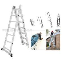 Tamaño para 2x6 2x7 2x8 2x9 2x10 2x11 2x12 2x13 2x14 escalera de extensión de 2 secciones