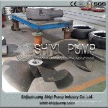 Slurry Pump Parts Impeller Abrasion Resistant