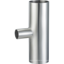 Aço Inoxidável 304 316L 3A Sanitary Reducing Welded Tee