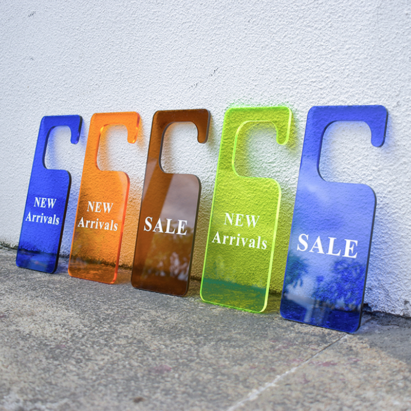 Acrylic Promotional Signs
