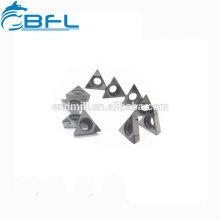 Insertos de carburo BFL Insertos de corte TCMT / Torno Inserto de carburo de triángulo