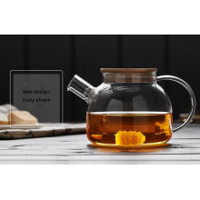 Термостойкость Высокая Borosilicate стекла чайника посуда для оптовых