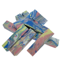 Cheap Price EVA Nail File Block 4 Sides Sanding Block 180 Grit Rainbow Color Nail File Block